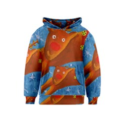 Rudolph The Reindeer Kid s Pullover Hoodies