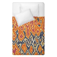 Red Blue Yellow Chaos  Duvet Cover (single Size)