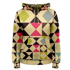 Rhombus And Triangles Pattern Pullover Hoodie
