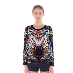 Officially Sexy Panther Collection Red Women s Long Sleeve T-shirt