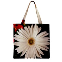 Daisy Zipper Grocery Tote Bags