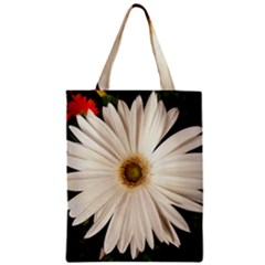 Daisy Zipper Classic Tote Bags