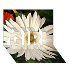 Daisyc GIRL 3D Greeting Card (7x5)