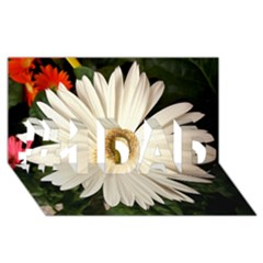 Daisyc #1 DAD 3D Greeting Card (8x4)