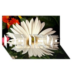 Daisyc BELIEVE 3D Greeting Card (8x4)