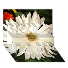 Daisyc You Rock 3D Greeting Card (7x5)