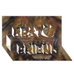 Cecil The African Lion Best Friends 3D Greeting Card (8x4)