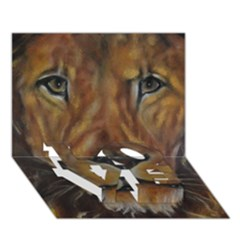 Cecil The African Lion Love Bottom 3d Greeting Card (7x5)