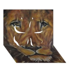Cecil The African Lion Clover 3D Greeting Card (7x5)