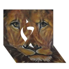 Cecil The African Lion Ribbon 3d Greeting Card (7x5)