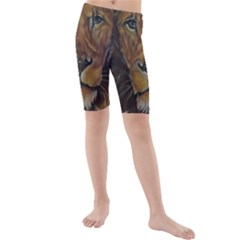 Cecil The African Lion Kid s swimwear