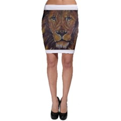 Cecil The African Lion Bodycon Skirts