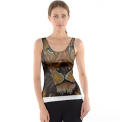 Cecil The African Lion Tank Tops
