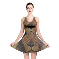 Cecil The African Lion Reversible Skater Dresses