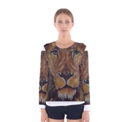 Cecil The African Lion Women s Long Sleeve T-shirts
