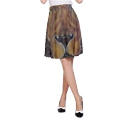 Cecil The African Lion A-Line Skirts