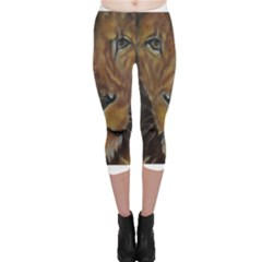 Cecil The African Lion Capri Leggings
