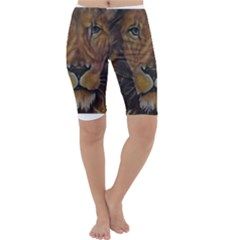 Cecil The African Lion Cropped Leggings