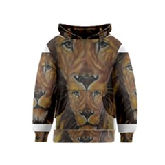 Cecil The African Lion Kid s Pullover Hoodies