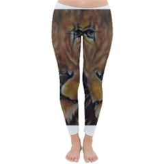 Cecil The African Lion Winter Leggings
