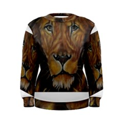 Cecil The African Lion Women s Sweatshirts