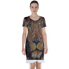 Cecil The African Lion Short Sleeve Nightdresses