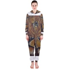 Cecil The African Lion Hooded Jumpsuit (Ladies)