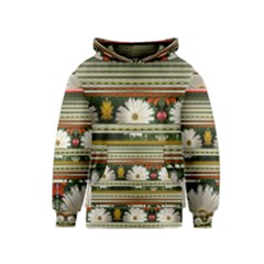 Pattern Flower Kid s Pullover Hoodies