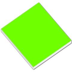 Bright Fluorescent Neon Green Small Memo Pads