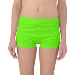 Bright Fluorescent Neon Green Boyleg Bikini Bottoms