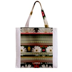 Pattern Flower Phone Cases Zipper Grocery Tote Bags