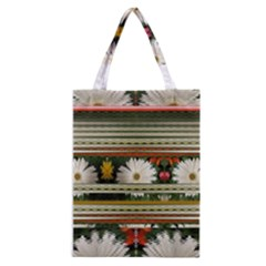 Pattern Flower  Classic Tote Bags