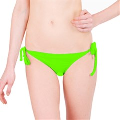 Bright Fluorescent Neon Green Bikini Bottoms