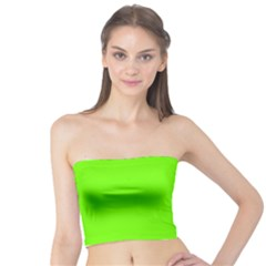 Bright Fluorescent Neon Green Women s Tube Tops