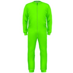 Bright Fluorescent Neon Green OnePiece Jumpsuit (Men)
