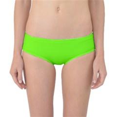 Bright Fluorescent Neon Green Classic Bikini Bottoms