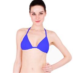 Neon Blue Bikini Tops