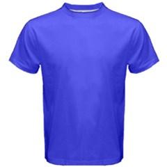 Neon Blue Men s Cotton Tees