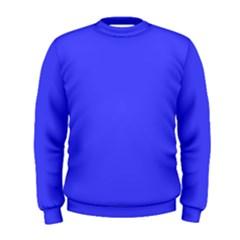 Neon Blue Men s Sweatshirts