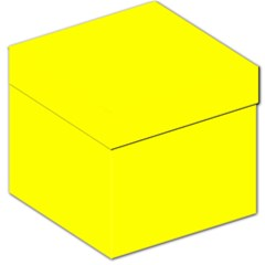 Bright Fluorescent Yellow Neon Storage Stool 12