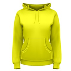 Bright Fluorescent Yellow Neon Women s Pullover Hoodies