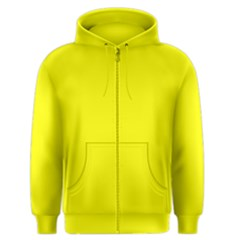 Bright Fluorescent Yellow Neon Men s Zipper Hoodies