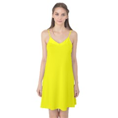 Bright Fluorescent Yellow Neon Camis Nightgown