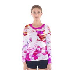 Officially Sexy Candy Collection Pink Women s Long Sleeve T-shirt