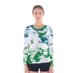 Officially Sexy Candy Collection Green Long Sleeve T Shirt