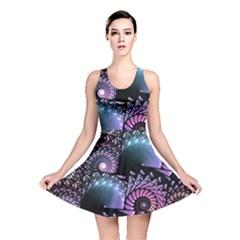 Stunning Sea Shells Reversible Skater Dresses