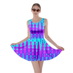 Melting Blues and Pinks Skater Dresses