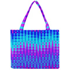 Melting Blues And Pinks Tiny Tote Bags
