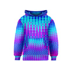 Melting Blues and Pinks Kid s Pullover Hoodies