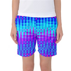 Melting Blues And Pinks Women s Basketball Shorts